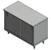 John Boos 14-Gauge Commerical Modular Base Flat Top Work Table