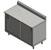 "John Boos 14-Gauge Commerical Modular Base Work Table with 5"" Riser"