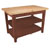 "30"" D Classic Country Work Table Kitchen Islands with 2 Shelves by John Boos"