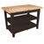 "John Boos Classic Country Worktable, 48""W x 36""D x 36""H, 1-3/4"" Thick Top, 2 shelf, French Roast"