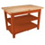 "John Boos Classic Country Worktable, 48""W x 36""D x 36""H, 1-3/4"" Thick Top, 2 shelf, Spicy Latte"