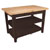 "John Boos Classic Country Worktable, 48""W x 36""D x 36""H, 1-3/4"" Thick Top, 2 shelf, Walnut Stain"