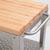John Boos Kitchen Cart w/ Removable Cutting Board Top