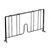 John Boos Divider, Black For Epoxy Wire Shelving