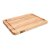 "John Boos Prestige Board Cutting Board, Northern Hard Rock Maple, Edge Grain, 22"" W x 16"" D x 1-1/4"" Thick, Juice Groove (One Side), Reversible w/ Thumb Hole, Boos Block Cream Finish w/ Beeswax"