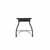 Table Base - Wrinkle Black