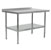 Work Table w/ Riser, Galvanized Legs & Shelf