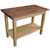 John Boos Blended Walnut Classic Country Work Table