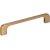 "Jeffrey Alexander 5-3/4"" Width Alvar Cabinet Pull in Satin Bronze, Center to Center: 128mm (5"")"