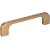 "Jeffrey Alexander 4-7/16"" Width Alvar Cabinet Pull in Satin Bronze, Center to Center: 96mm (3-3/4"")"