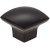 "Jeffrey Alexander 1-3/16"" Diameter Sonoma Cabinet Bail Knob in Matte Black"