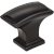 "Jeffrey Alexander 1-1/2"" Width Annadale Rectangle Pillow Top Cabinet Knob in Matte Black"