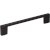 "Jeffrey Alexander 5-7/8"" Width Sutton Cabinet Pull in Matte Black, Center to Center: 128mm (5"")"