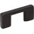 "Jeffrey Alexander 2-1/4"" Width Sutton Cabinet Pull in Matte Black, Center to Center: 32mm (1-1/4"")"