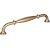 "Jeffrey Alexander 7-1/16"" Width Tiffany Cabinet Pull in Satin Bronze, Center to Center: 160mm (6-5/16"")"