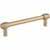 Jeffrey Alexander Hayworth Center-to-Center Cabinet Bar Pull in Satin Bronze, 5'' W