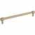 Jeffrey Alexander Hayworth Center-to-Center Cabinet Bar Pull in Satin Bronze, 8-4/5'' W