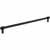 Jeffrey Alexander Hayworth Center-to-Center Cabinet Bar Pull in Matte Black, 12'' W