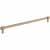 Jeffrey Alexander Hayworth Center-to-Center Cabinet Bar Pull in Satin Bronze, 12'' W