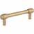 Jeffrey Alexander Hayworth Center-to-Center Cabinet Bar Pull in Satin Bronze, 3-3/4'' W