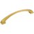 """Jeffrey Alexanders Roman Collection 7-1/2"""" W Decorative Cabinet Pull, 160 mm (6-1-4"""") Center to Center, Brushed Gold, 7-1/2"""" W x 1-7/16"""" D x 1-7/16"""" H"""