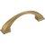 "Jeffrey Alexanders Roman Collection 4-15/16"" W Decorative Cabinet Pull, 96 mm (3-3/4"") Center to Center, Satin Bronze, 4-15/16"" W x 1-7/16"" D x 1-7/16"" H"