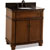 Jeffrey Alexander Compton Painted Walnut Bath Elements Vanity with Black Granite Top & Sink