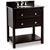 Jeffrey Alexander Adler Bath Elements Vanity with Granite Top & Sink, Black Painted
