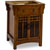 Jeffrey Alexander Westcott Wright Vanity, Chestnut with Mica Glass