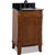 Jeffrey Alexander Hamilton Bath Elements Vanity with Granite Top & Sink, Toffee Painted