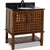 Jeffrey Alexander Lyn Bath Elements Vanity with Granite Top & Sink, Painted Nutmeg