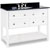 Jeffrey Alexander Adler Bath Elements Vanity with Granite Top & Sink, Painted White