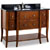 Jeffrey Alexander Philadelphia Classic Vanity with Granite Top & Sink, Chocolate