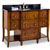 Jeffrey Alexander Philadelphia Refined Vanity with Granite Top & Sink, Chocolate