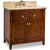 Jeffrey Alexander Chatham Shaker Vanity with Marble Top & Sink, Chocolate