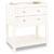 Jeffrey Alexander Astoria Modern Vanity, Cream White