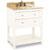 Jeffrey Alexander Astoria Modern Vanity with Marble Top & Sink, Cream White