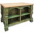 Jeffrey Alexander Kitchen Island, Aqua Green
