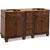 Jeffrey Alexander Compton Painted Walnut Bath Elements Double Base Vanity, Base Only
