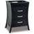 Jeffrey Alexander Barcelona Modern Black Bathroom Vanity, Base Only