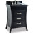Jeffrey Alexander Barcelona Modern Black Bathroom Vanity with Black Granite Top & Sink