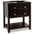 Jeffrey Alexander Adler Bath Elements Vanity, Black Painted, Base Only