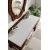 Aged Cognac 3cm Snow White Top No Cut-Out Overhead View