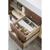 Mid Century Walnut / Glossy White Product View