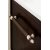 "48"" Burnished Mahogany 3cm Carrara Marble Top Handle Illustration"