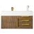 """36"""" Latte Oak Cabinet View"""