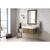 "36"" Latte Oak / Glossy White Product View"