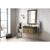 "36"" Latte Oak / Glossy Dark Gray Product View"