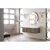 """48"""" Ash Gray / Glossy White Product View"""