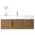 """48"""" Latte Oak Cabinet View"""